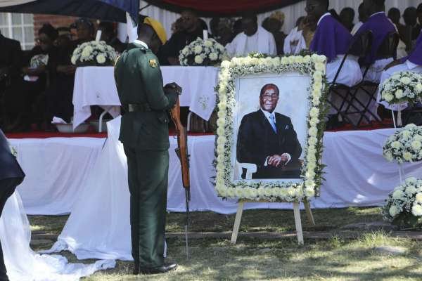 Robert Mugabe finally laid to rest in Kutama