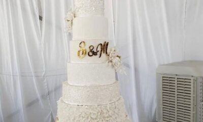 Somizi's Wedding Cake